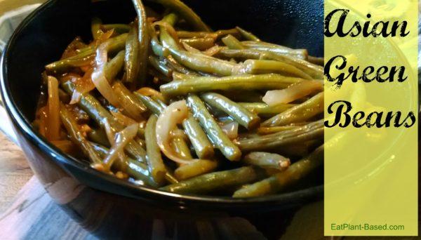 Asian Sauce Recipe. green beans