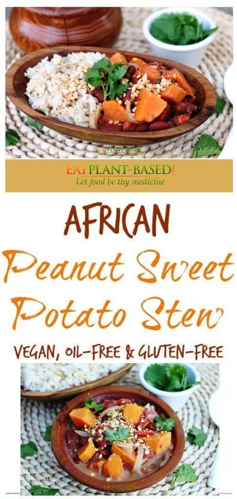 African Peanut Sweet Potato Stew