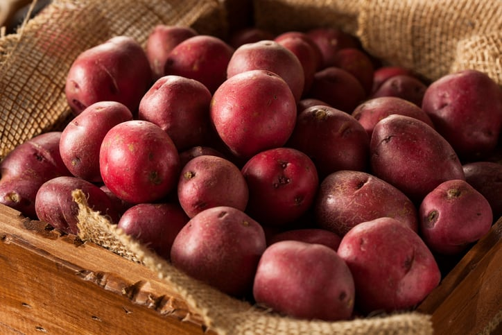 nutrition in red potatoes