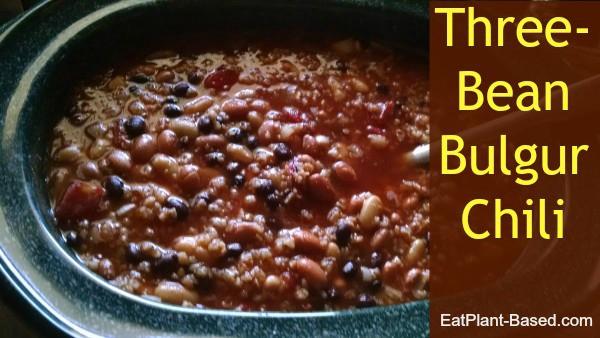 Crockpot Three Bean Chili