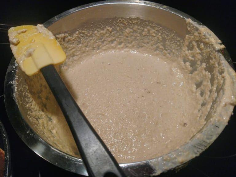 banana oat pancake batter