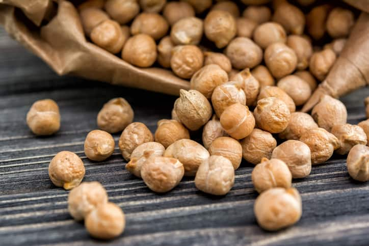 nutrition in chickpeas