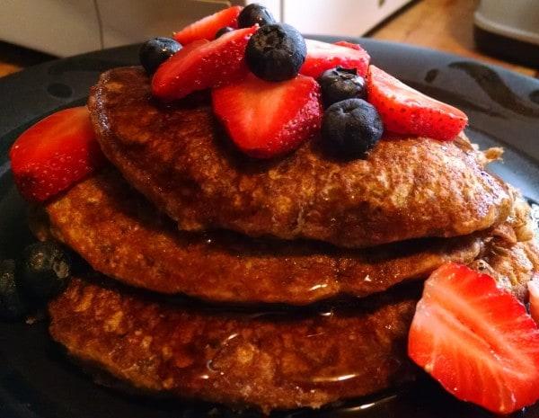 15 Plant-Based Diet Breakfasts. vegan pancakes