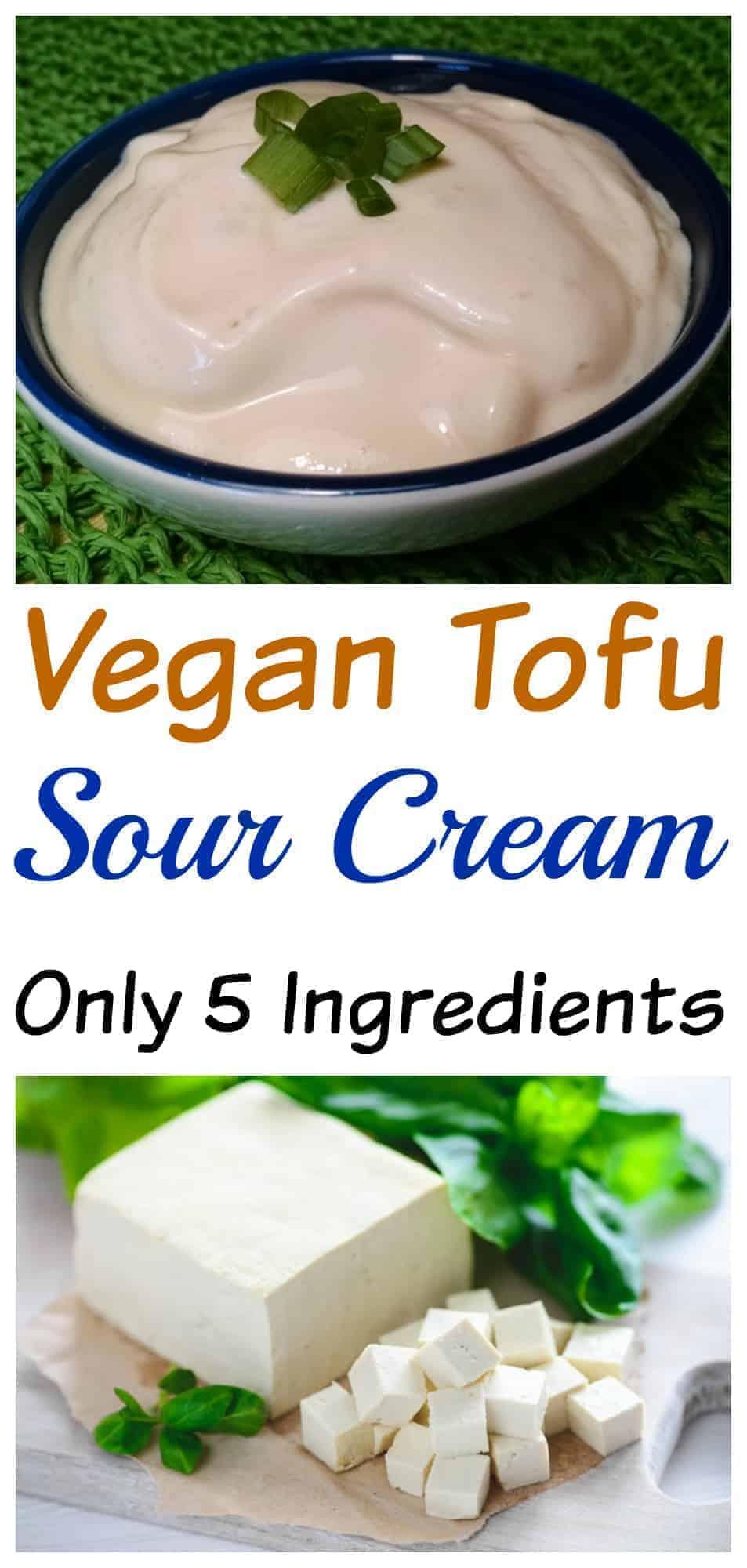 Vegan Tofu Sour Cream