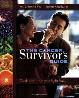 the cancer survivors guide book. plant based diet plan