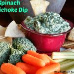 Vegan Artichoke Spinach Dip