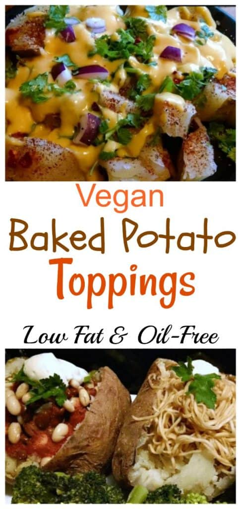 Vegan Baked Potato Toppings
