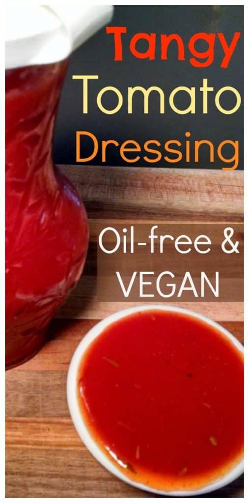 Vegan Salad Dressing Tangy Tomato