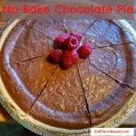 Chocolate Vegan Pie No-Bake