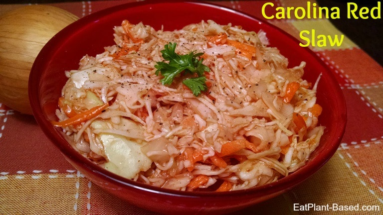red cole slaw