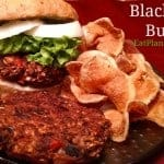 Black Bean Burger | Vegan