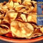 Homemade Potato Chips | Low-Fat Microwave