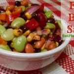 Four Bean Salad | No Cooking