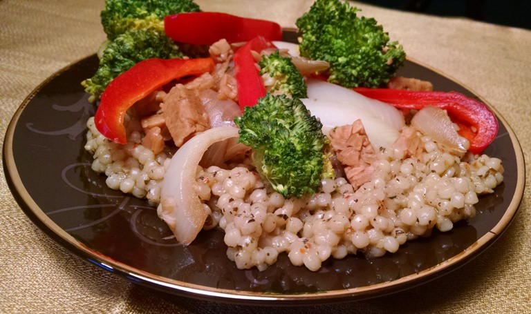 Tempeh Stir Fry | Broccoli & Red Peppers