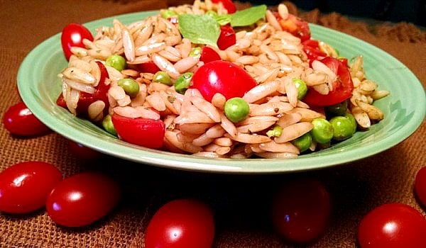 Orzo Pasta with Basil