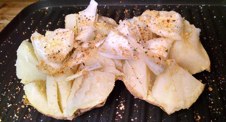 Potato Breakfast   Waffle Potato