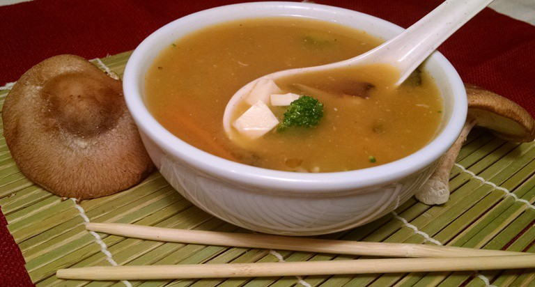 Vegan Miso Soup | Shiitake