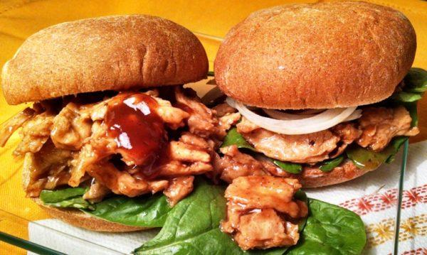 Soy Curls Recipe Best Vegan Barbecue Sandwich