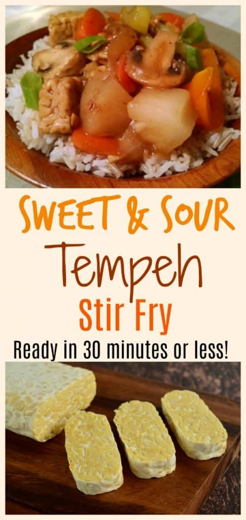 Vegan Tempeh Stir Fry