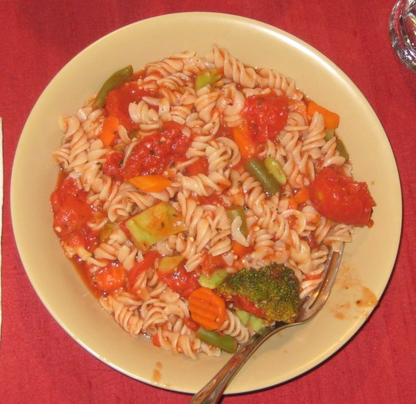 simple plant-based diet recipes. Pasta