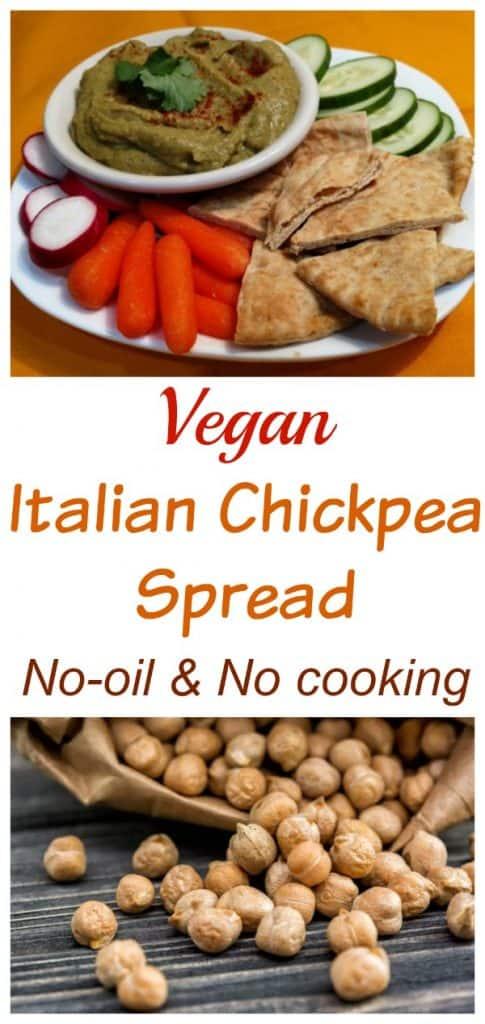 Chickpea Spread Italian