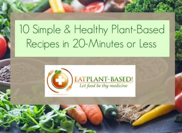 simple plant based diet recipes