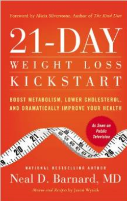 21 day kickstart your health book. plant based diet meal plan