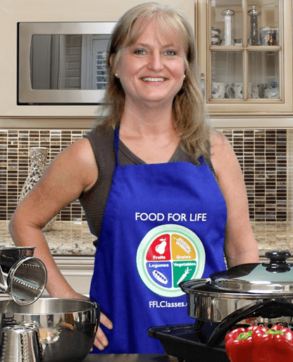 Terri Edwards Food for Life instructor
