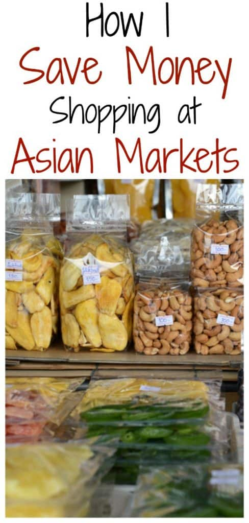 shopping at Asian markets to save money