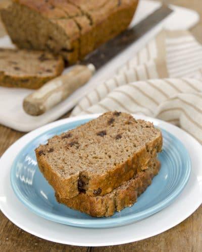 vegan party snacks banana bread