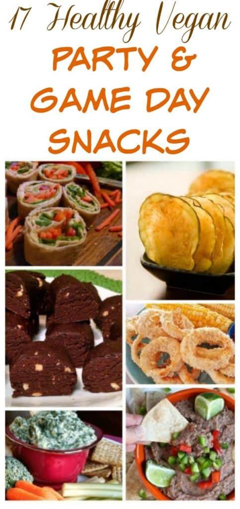 healthy vegan party snacks