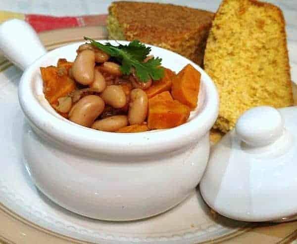 Vegan White Bean Chili.