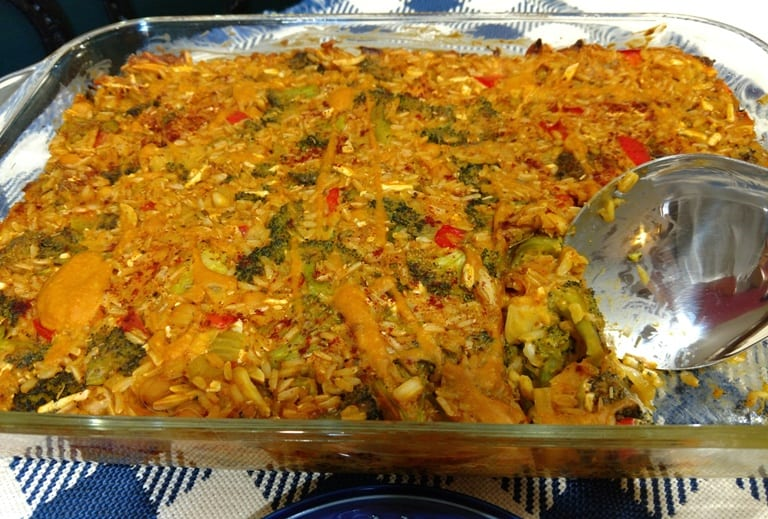 Vegan Broccoli Casserole