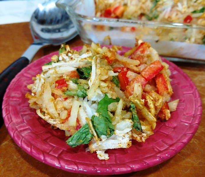15 Plant-Based Diet Breakfasts. vegan hash brown casserole