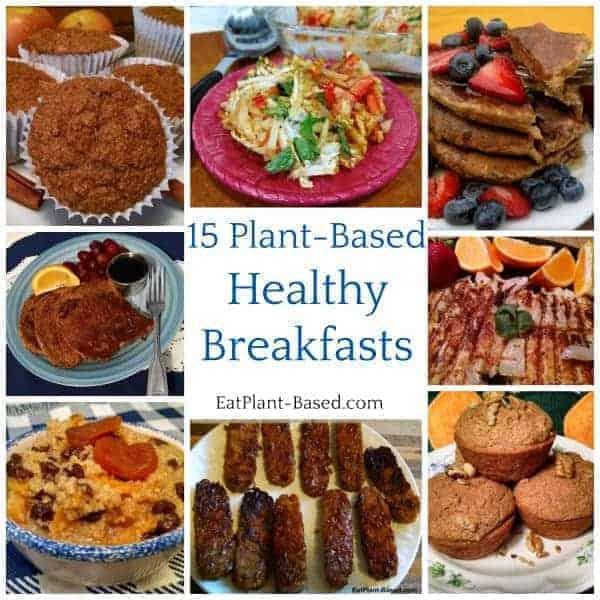Plant-based diet breakfasts