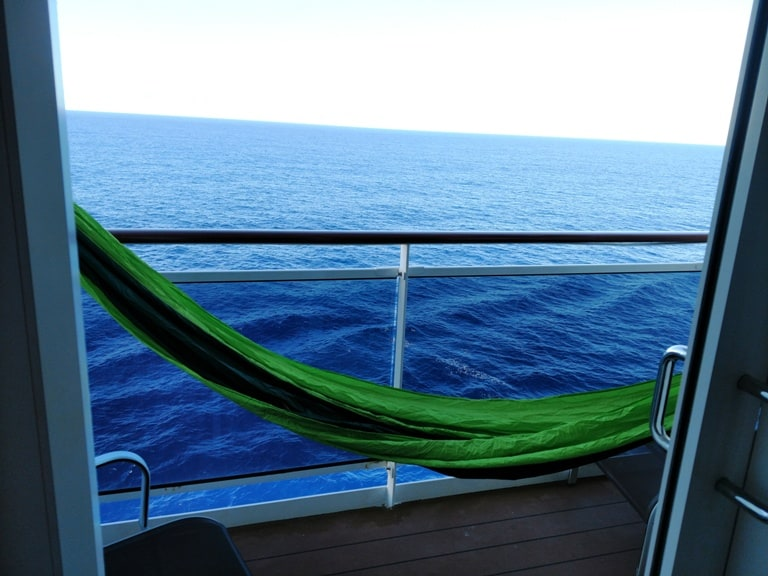 Review of Holistic Holiday at Sea balcony rooms