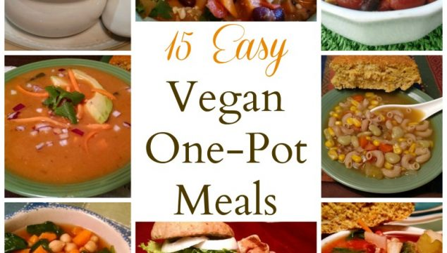 15 Easy One-Pot Vegan Meals