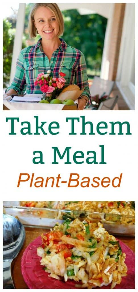 Take Them a Meal Plant-Based collage