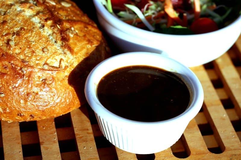 oil free, 3 ingredient salad dressing