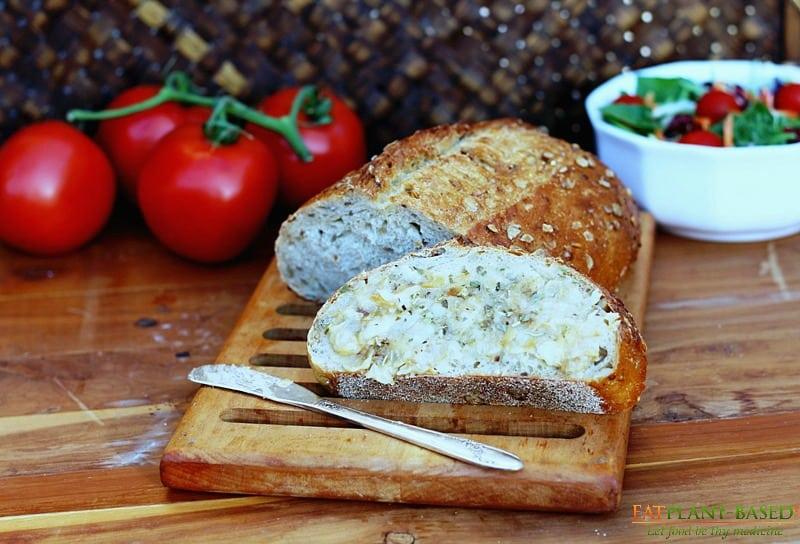 Vegan Herb & Garlic Butter