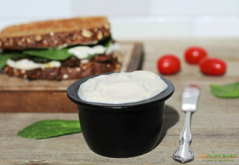 Vegan Low-Fat Mayo Recipe.