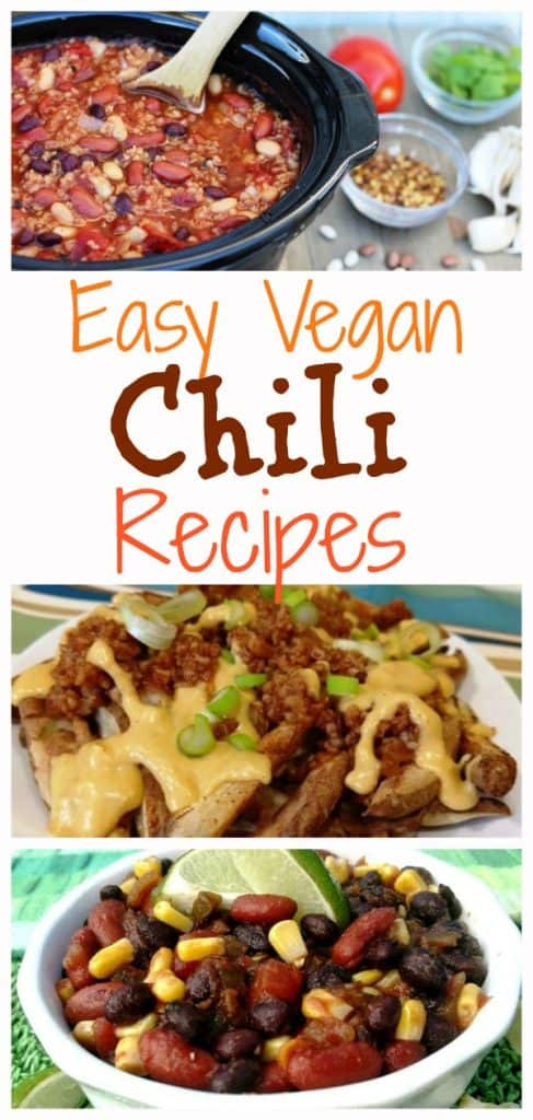 Easy Vegan Chili Recipes