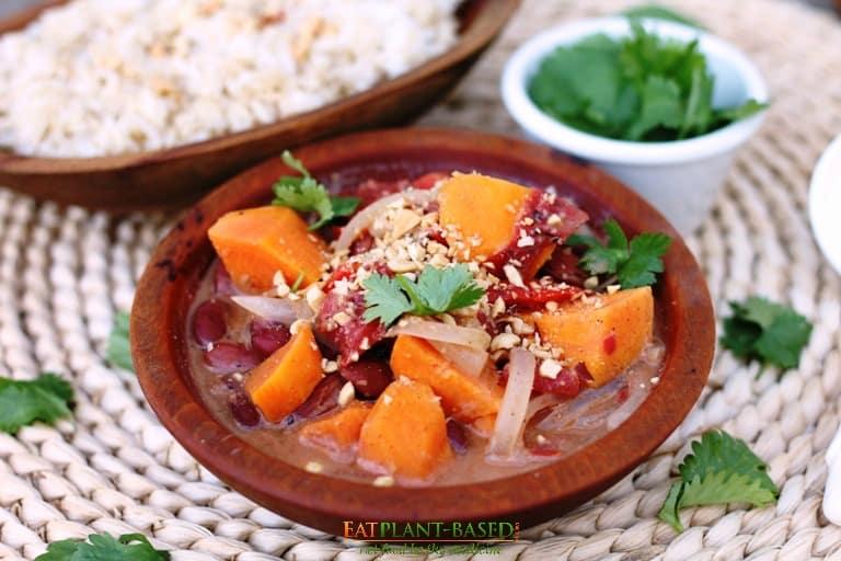 african peanut sweet potato soup