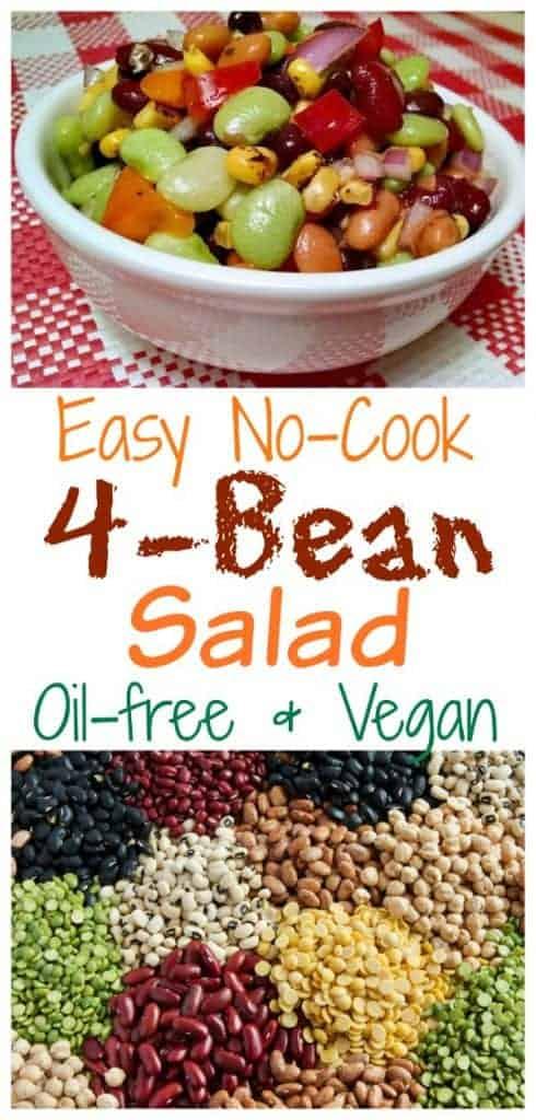 easy 4 bean salad
