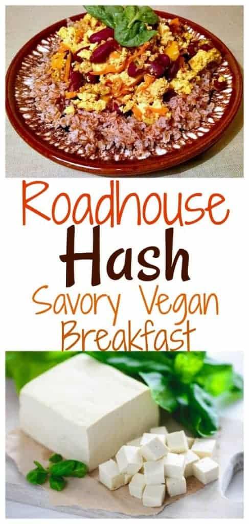 Savory Vegan Breakfast Roadhouse Hash