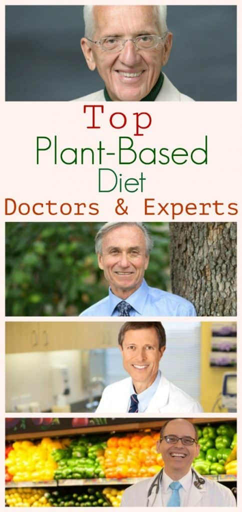List of top plant-based doctors and experts